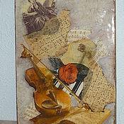 Для дома и интерьера ручной работы. Ярмарка Мастеров - ручная работа Вечная музыка. Handmade.