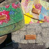 Поясная сумка ручной работы. Ярмарка Мастеров - ручная работа Валяная сумка на пояс. Handmade.