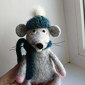 Куклы и игрушки handmade. Livemaster - original item Rat felted. Handmade.