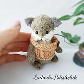 Мягкие игрушки ручной работы. Ярмарка Мастеров - ручная работа Котёнок Гришка. Handmade.