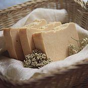 Косметика ручной работы. Ярмарка Мастеров - ручная работа IVORY нежное мыло на козьем молоке с шелком. Handmade.