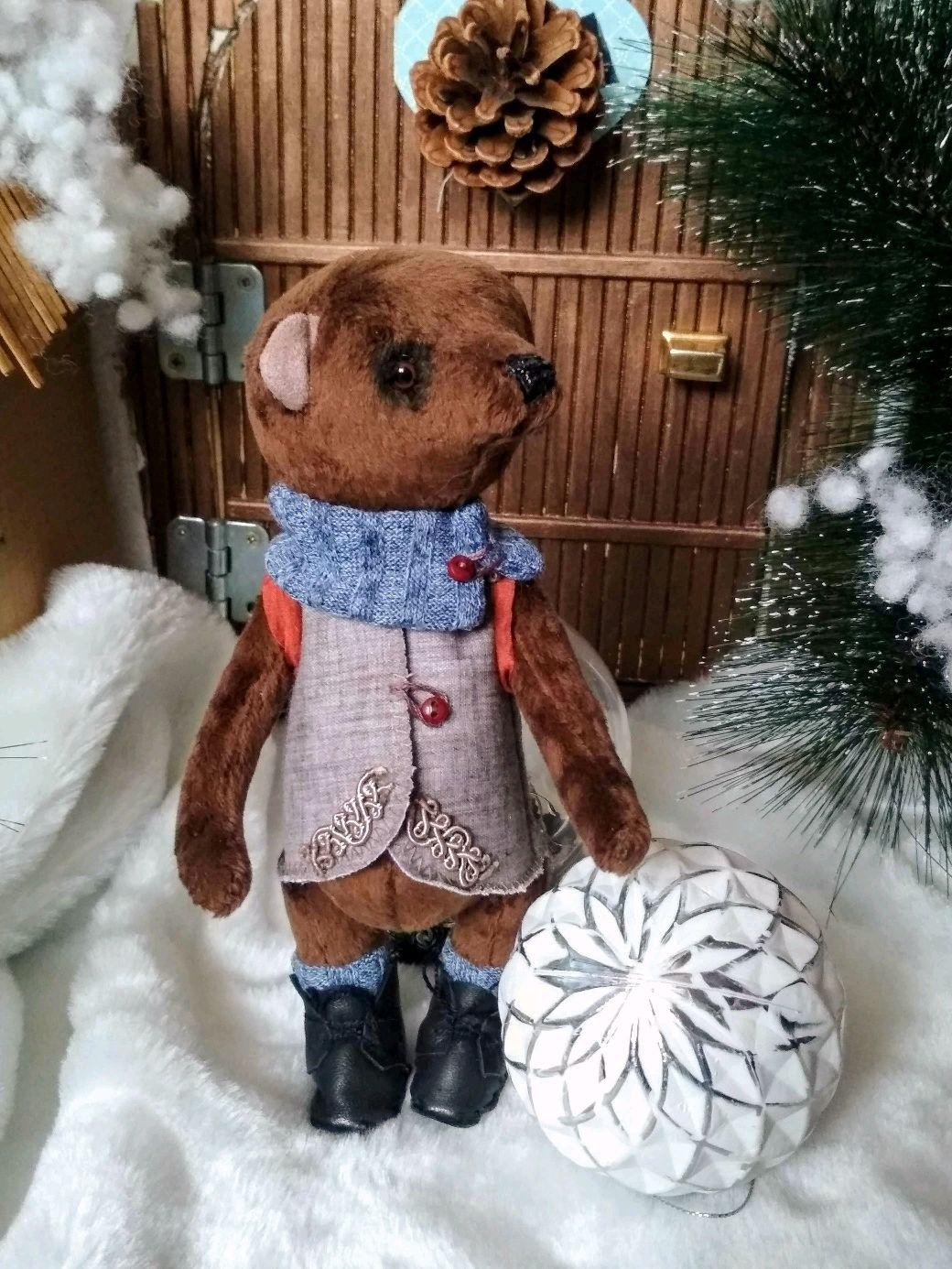 Мишка- Тедди, Иван Пирогов - серьезный мишка ), Мишки Тедди, Новосибирск,  Фото №1