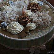 Подарки к праздникам ручной работы. Ярмарка Мастеров - ручная работа Шкатулка-коробочка для рукоделия #2. Handmade.