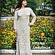 Dress 'Keeper' of cotton. Dresses. Shop Natalia Glebovskaya. Online shopping on My Livemaster.  Фото №2