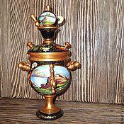 Русский стиль handmade. Livemaster - original item Samovar - box lake Kolyvan.. Handmade.