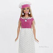 Куклы и игрушки handmade. Livemaster - original item Fishnet dress in