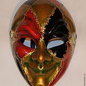 """Для дома и интерьера ручной работы. Ярмарка Мастеров - ручная работа Венецианская маска """"Джокер"""". Handmade."""