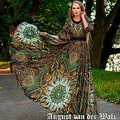 """Платья ручной работы. Ярмарка Мастеров - ручная работа """"Великолепный Век"""" Платье из шалей в Восточном стиле. Handmade."""