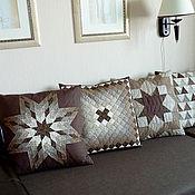 Для дома и интерьера ручной работы. Ярмарка Мастеров - ручная работа Диванные подушки. Handmade.