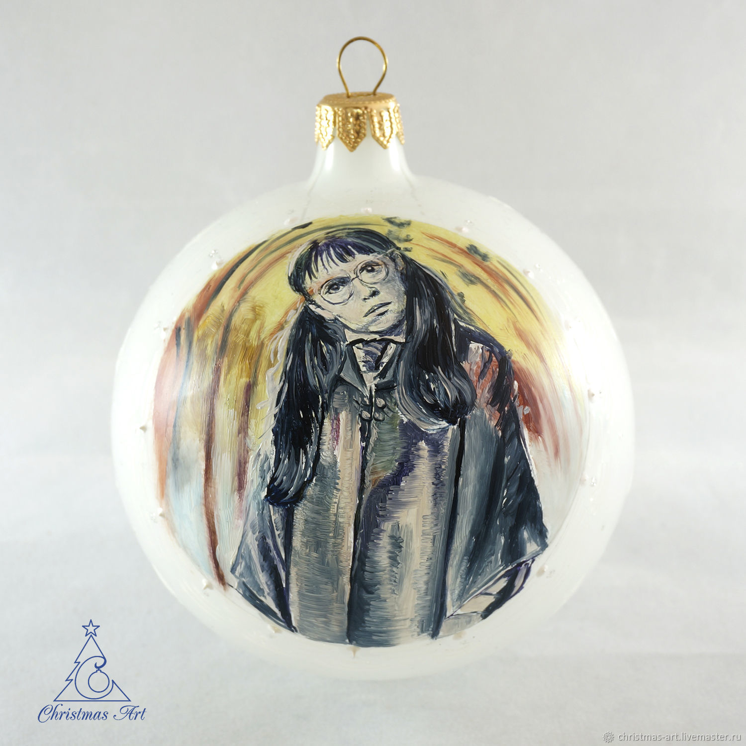 Portrait On A Christmas Ball By Harry Potter Christmas Toy To Order