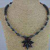 Украшения handmade. Livemaster - original item Necklace-choker hematite