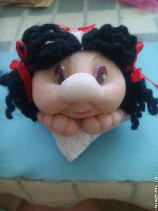 Коллекционные куклы ручной работы. Ярмарка Мастеров - ручная работа. Купить сувенирная кукла из капрона. Handmade. Белый, кукла в подарок
