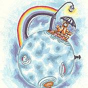Картины и панно handmade. Livemaster - original item The Picture Planeta Rainbow