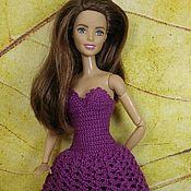 Куклы и игрушки ручной работы. Ярмарка Мастеров - ручная работа Одежда для Барби, платье для Барби 5. Handmade.