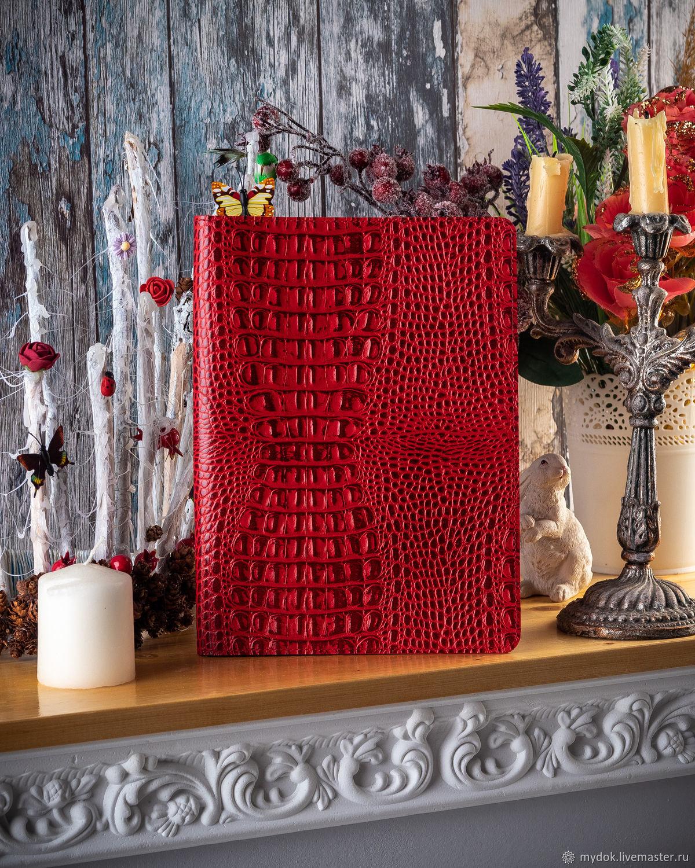 Органайзер для документов - Красный кайман, Папки, Москва, Фото №1