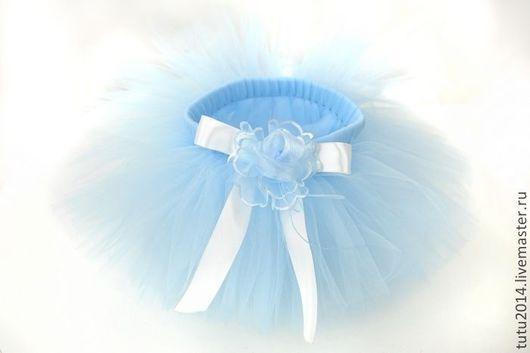 Нежно-голубая юбочка-пачка Tutu Вlue