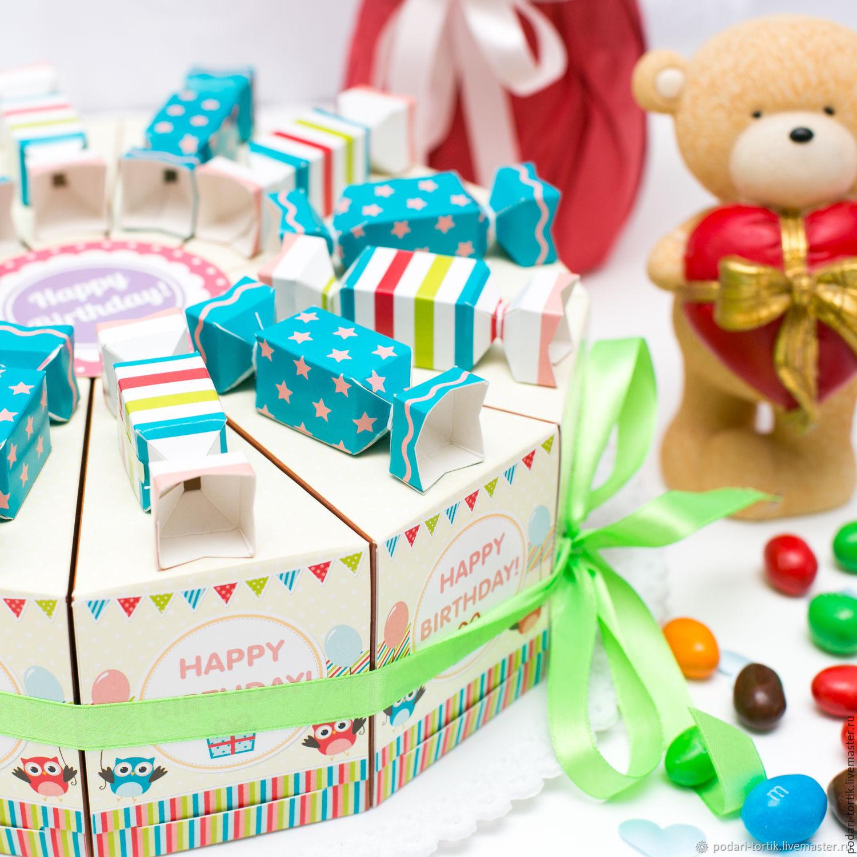 сладости с пожеланиями коробка прохладную погоду