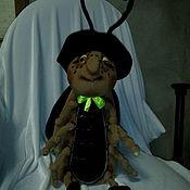 Куклы и игрушки handmade. Livemaster - original item Good cricket. Puppets on hand.. Handmade.
