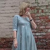 """Одежда ручной работы. Ярмарка Мастеров - ручная работа Платье валяное """"Мята"""". Handmade."""
