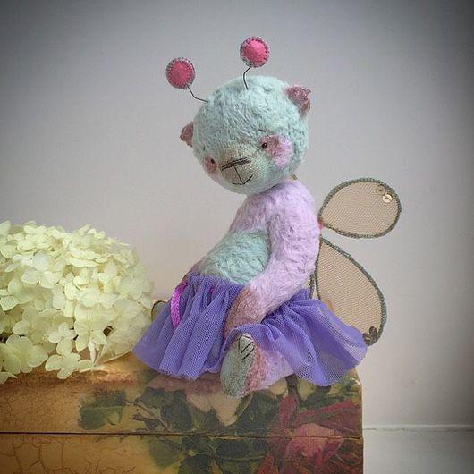 Мишки Тедди ручной работы. Ярмарка Мастеров - ручная работа. Купить Бэтти. Панда-бабочка. Handmade. Тедди, мишка