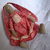 """Куклы и игрушки ручной работы. Ярмарка Мастеров - ручная работа Зайка-тильда """"Розочка"""". Handmade."""