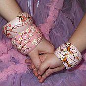 Украшения handmade. Livemaster - original item A set of bracelets peace-of-mind Japanese style. Handmade.