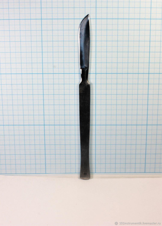 Скальпель брюшистый большой СБ-5 160 мм – купить на Ярмарке Мастеров – JRY1IRU | Инструменты, Москва