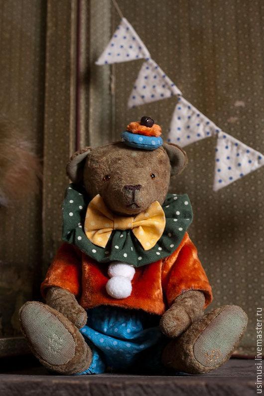 Мишки Тедди ручной работы. Ярмарка Мастеров - ручная работа. Купить Мистер Буфф. Handmade. Рыжий, авторский мишка