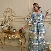Одежда ручной работы. Ярмарка Мастеров - ручная работа Накидка и платье Бал Антуанетты. Handmade.