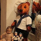 Куклы и игрушки ручной работы. Ярмарка Мастеров - ручная работа Плюшевый медведь Морячок Мотя. Handmade.