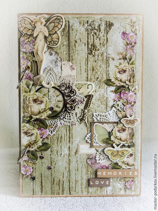 """Свадебные аксессуары ручной работы. Ярмарка Мастеров - ручная работа. Купить Книга пожеланий """"Butterfly"""". Handmade. Книга пожеланий, бабочка"""