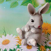 Косметика ручной работы handmade. Livemaster - original item Soap Sitting Bunny. Handmade.