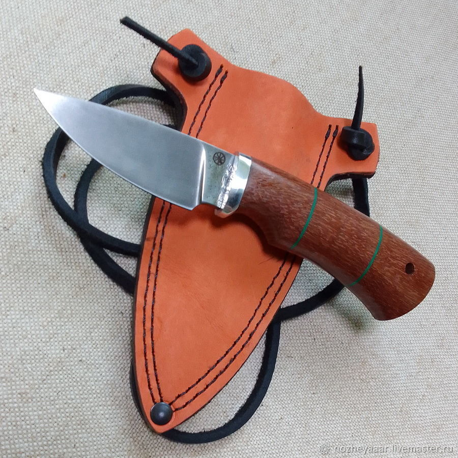 Knife 'Tooth' h12mf laiswood, Knives, Vorsma,  Фото №1