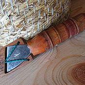 """Русский стиль ручной работы. Ярмарка Мастеров - ручная работа Нож """"Косяк"""" для резьбы. Handmade."""