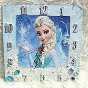 Для дома и интерьера handmade. Livemaster - original item Watch Elsa frozen. Handmade.