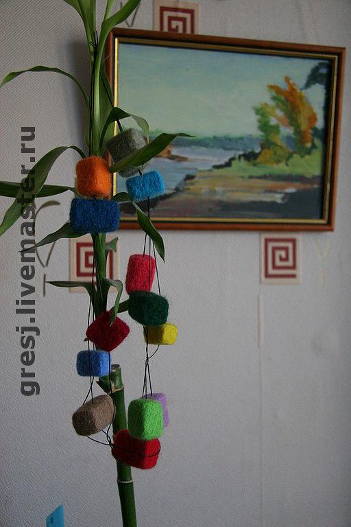 """Колье, бусы ручной работы. Ярмарка Мастеров - ручная работа. Купить Бусы """"Игра в кубики"""". Handmade."""