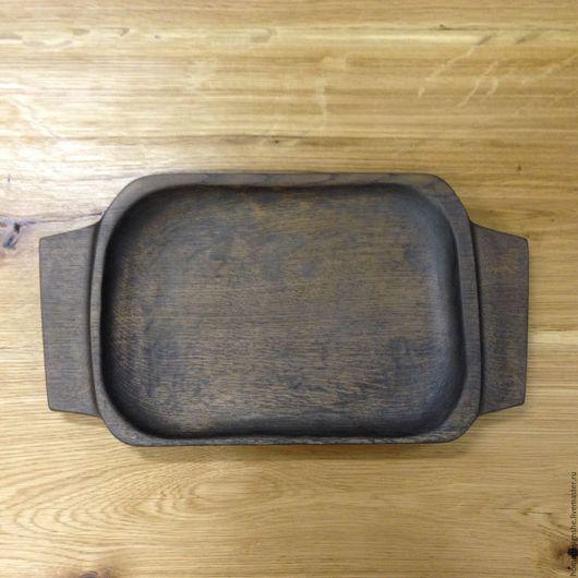 Кухня ручной работы. Ярмарка Мастеров - ручная работа. Купить Деревянный поднос. Handmade. Черный, сувениры ручной работы