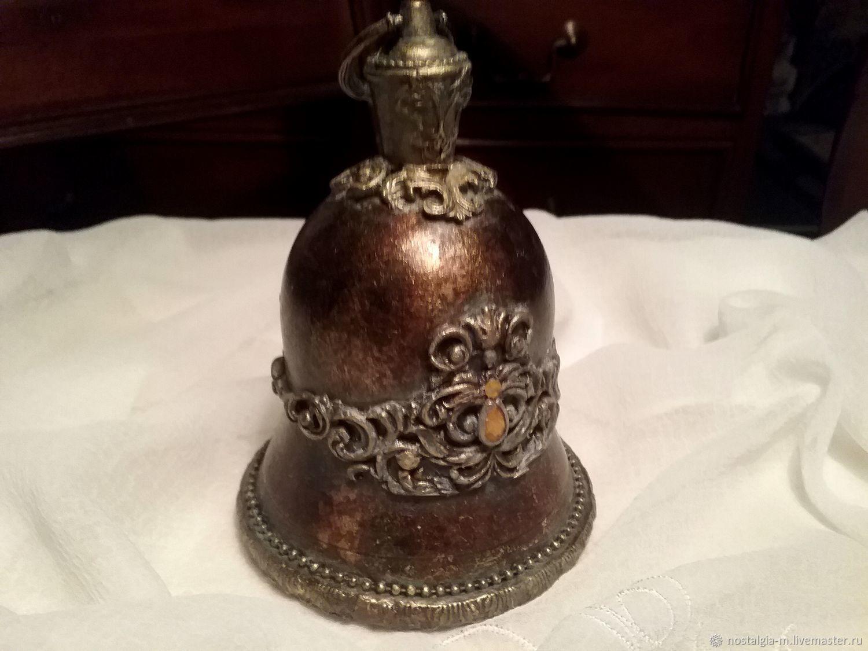 Колокольчик большой Старое золото, Колокольчики, Москва,  Фото №1