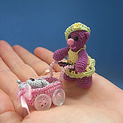 Куклы и игрушки ручной работы. Ярмарка Мастеров - ручная работа мишка Лиза. Handmade.