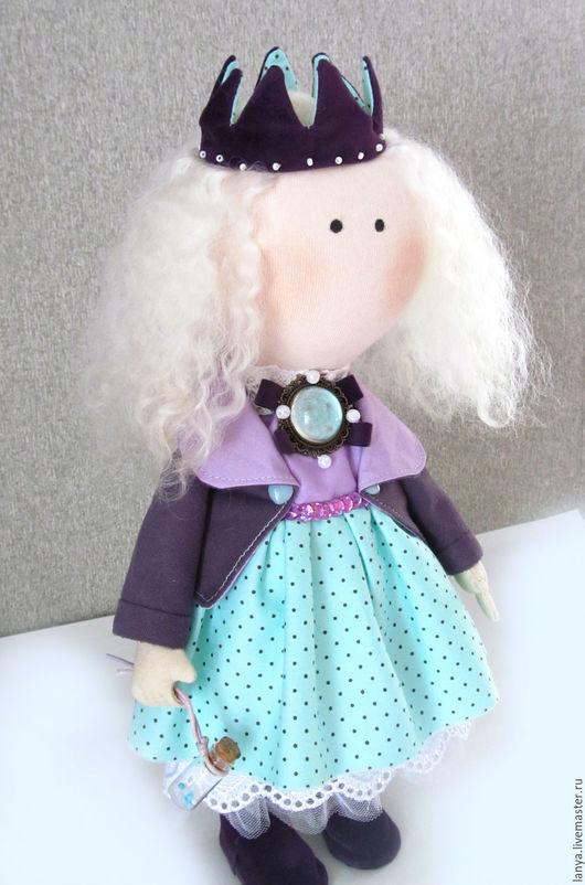 Куклы Тильды ручной работы. Ярмарка Мастеров - ручная работа. Купить Принцесса. Handmade. Бирюзовый, doll art, хлопок