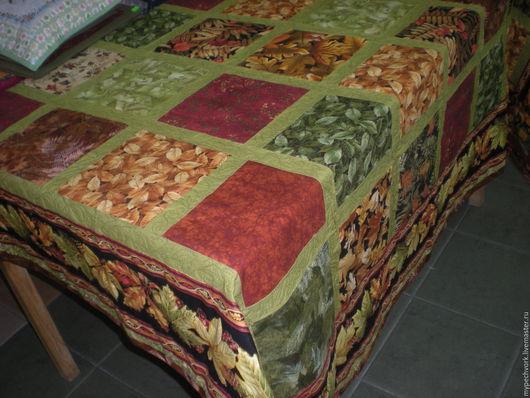 Текстиль, ковры ручной работы. Ярмарка Мастеров - ручная работа. Купить Лоскутное одеяло Осень золотая. Handmade. Одеяло пэчворк
