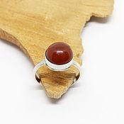 Украшения handmade. Livemaster - original item 17.5 the Ring with carnelian Ogneslav. Handmade.