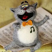 Куклы и игрушки ручной работы. Ярмарка Мастеров - ручная работа Оперный кот Мяучано. Handmade.