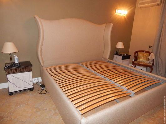 Мебель ручной работы. Ярмарка Мастеров - ручная работа. Купить Кровать с изголовьем.. Handmade. Комбинированный, мебель для спальни, изголовье