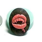 """Материалы для творчества ручной работы. Ярмарка Мастеров - ручная работа Молд, форма камеи """"Укус вампира"""" (арт.: 495). Handmade."""