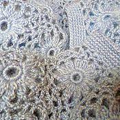 Одежда ручной работы. Ярмарка Мастеров - ручная работа Кофта из цветов. Handmade.