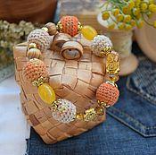 """Украшения ручной работы. Ярмарка Мастеров - ручная работа Браслет """"Sun fashion"""". Handmade."""