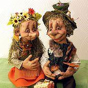 Куклы и игрушки handmade. Livemaster - original item Wooden Elfs. Handmade.