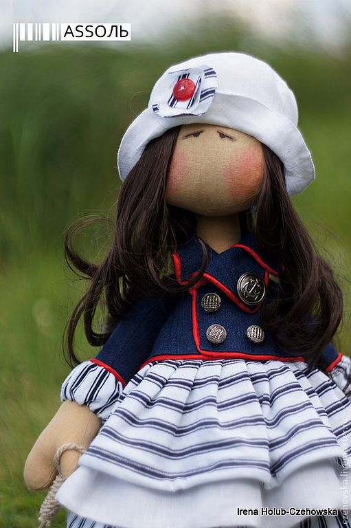 Коллекционные куклы ручной работы. Ярмарка Мастеров - ручная работа. Купить куколка Assoль. Handmade. Кукла, подарок женщине