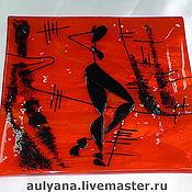 Посуда ручной работы. Ярмарка Мастеров - ручная работа Тарелочки декоративные. Handmade.